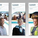 Luxair Luxembourg Airlines Stand RH