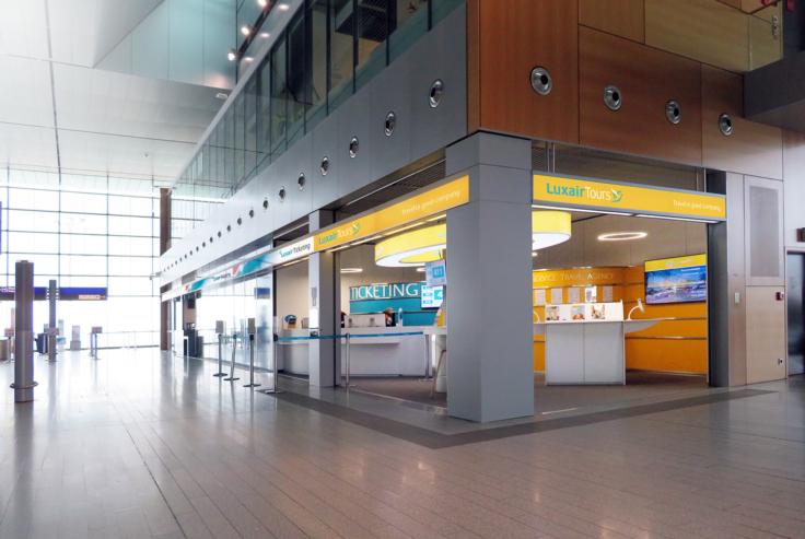 Luxembourg Airport vue générale