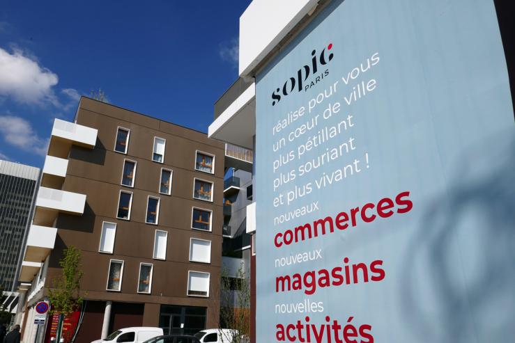 Nouveau quartier de la Mairie de Gennevilliers